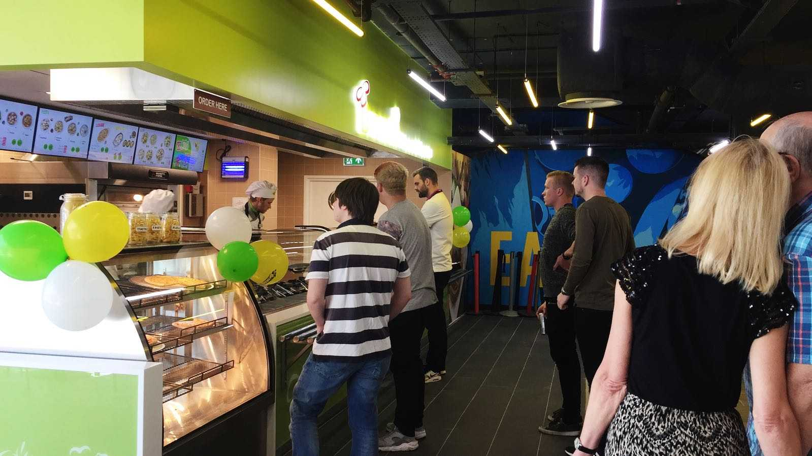 Broccoli Pizza and Pasta opens at The Crossing, Swindon Town Centre
