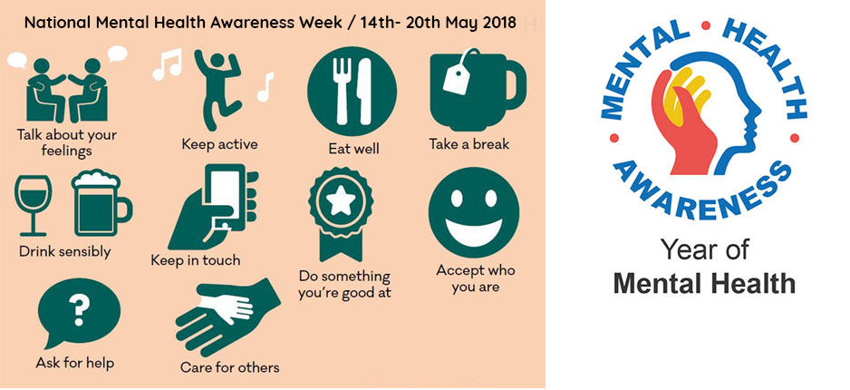 Pop-up shop of activities for Mental Health Awareness Week