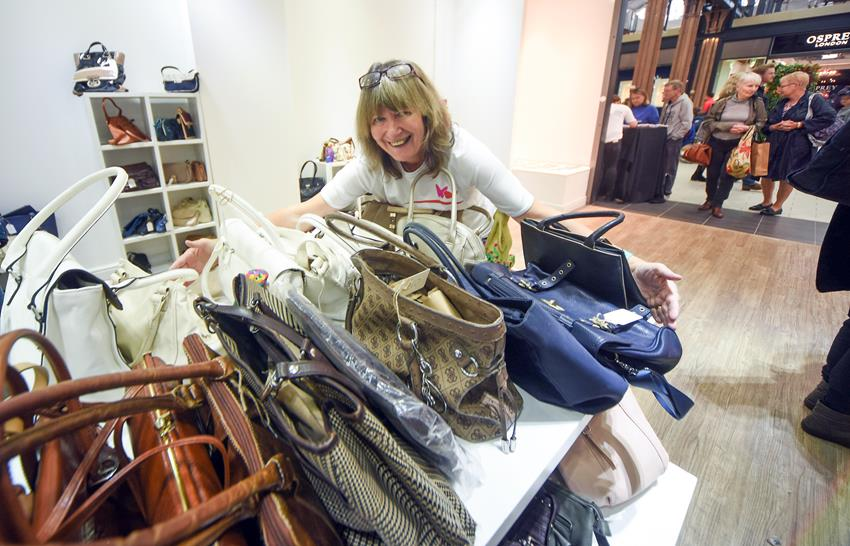 Snapped: Swindon Designer Outlet Handbag Amnesty