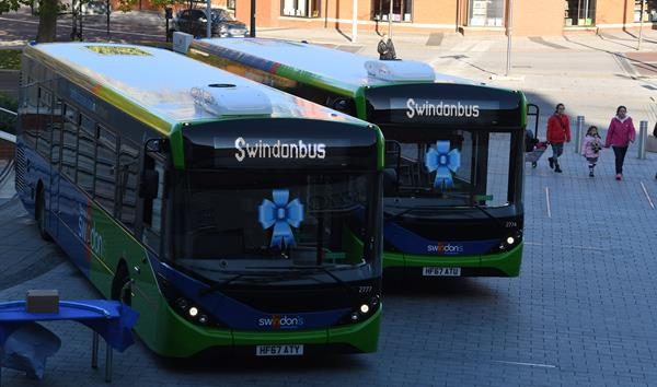 Swindon's Bus Company Shortlisted for the UK Bus Awards 'New Horizons' Award