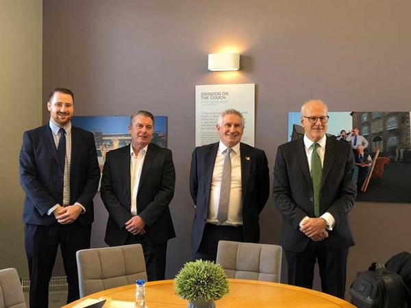 FCA Chairman meets with Swindon business leaders