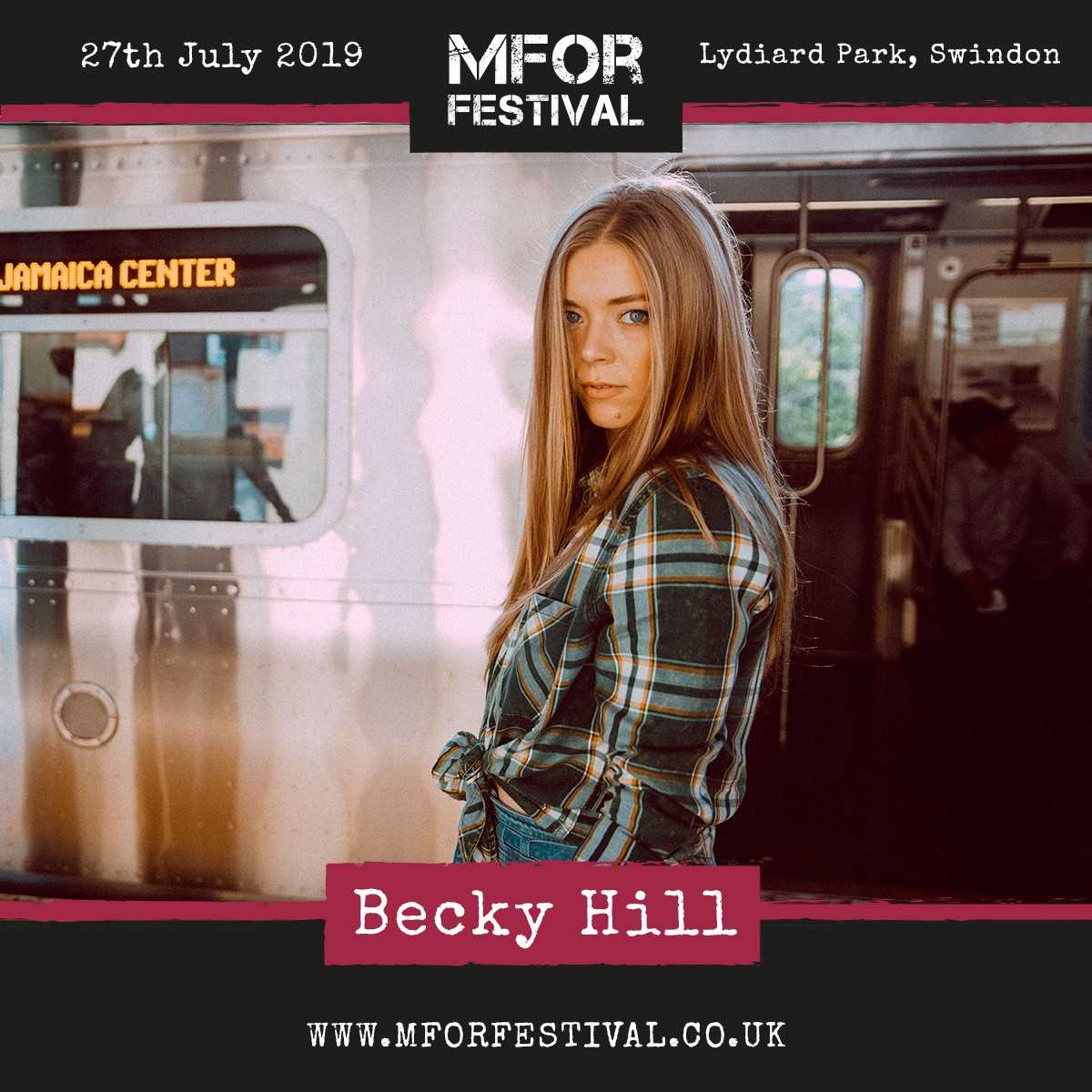 Becky Hill Announced to perform at MFOR Festival!
