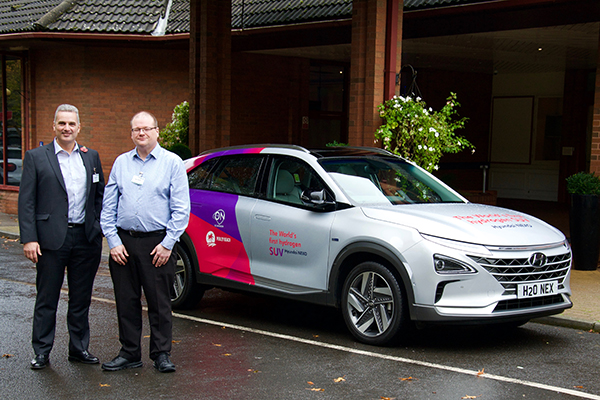Swindon business leaders get a look at hydrogen-powered Hyundai