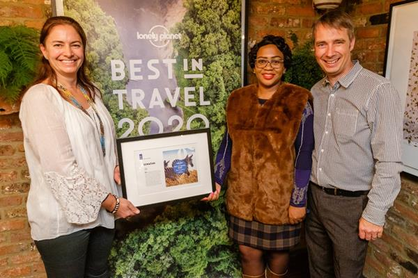 TOUR OPERATOR'S COMPANY UNDER THE SPOTLIGHT IN CHRISTMAS EDITION OF TRAVEL GUIDE SPECIALIST LONELY PLANET