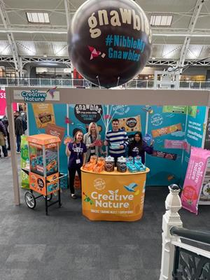 NEW LOOK FOR FREE-FROM SNACK BRAND CREATIVE NATURE READY FOR 2020