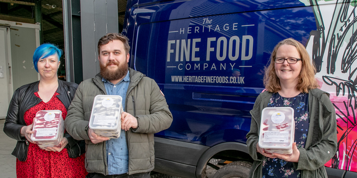 Artisan ice cream maker joins forces with specialist fresh food distribution company