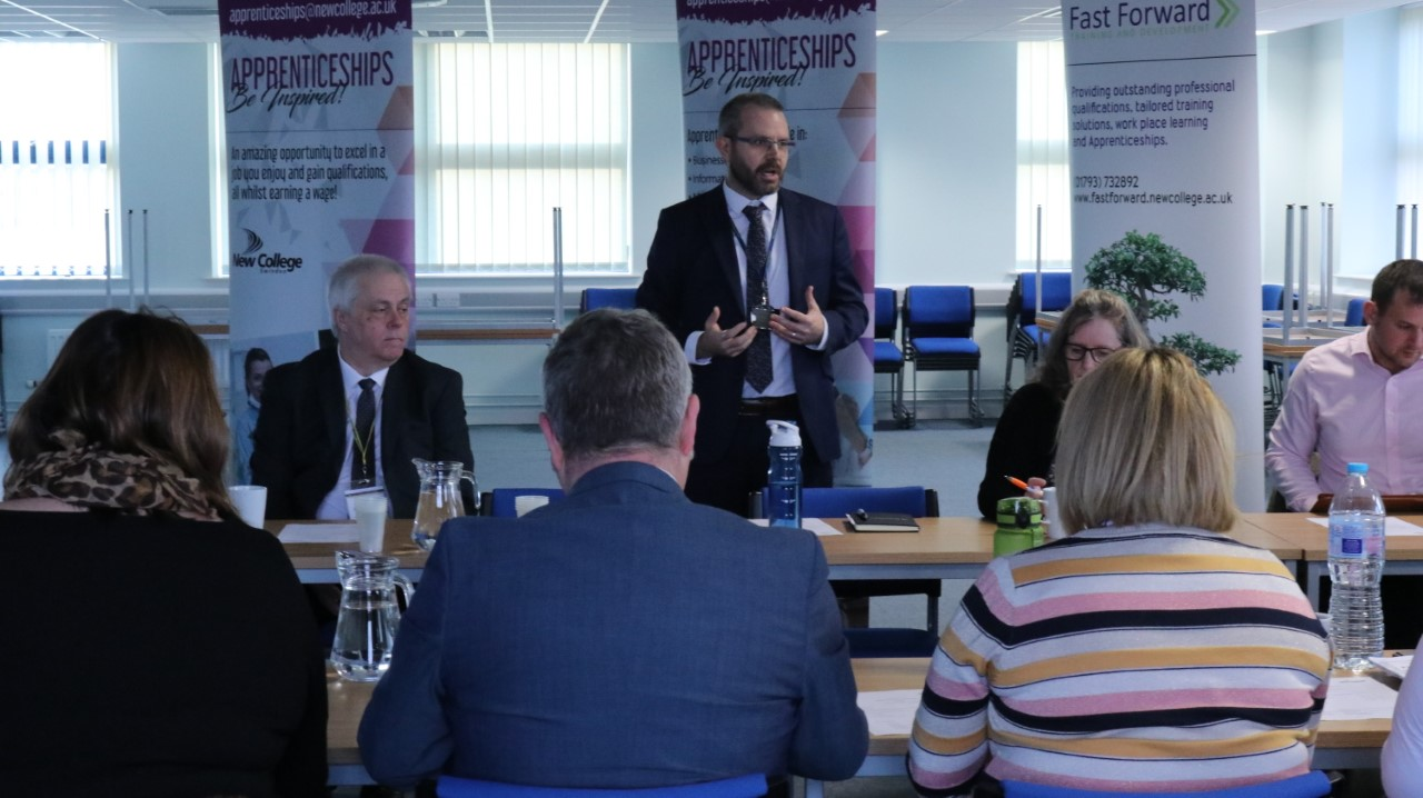 NEW COLLEGE SWINDON WELCOMES EMPLOYERS TO FIRST EVER FUTURE TALENT FORUMS