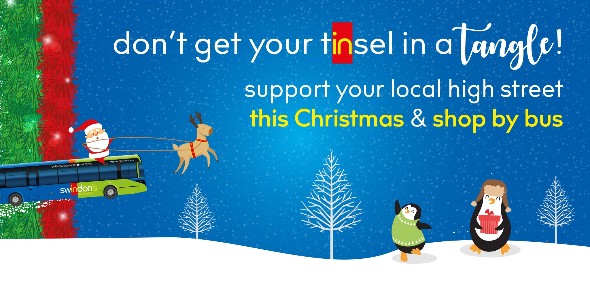 Support Swindon's Shops this Christmas