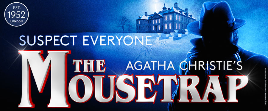 Win a Romantic Theatre Trip to see the Mousetrap