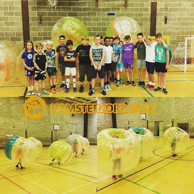 Win a FREE Kids Bubble Football Party