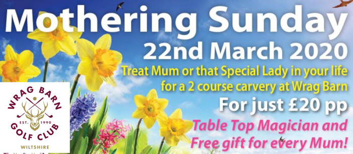 Mothering Sunday at Wrag Barn