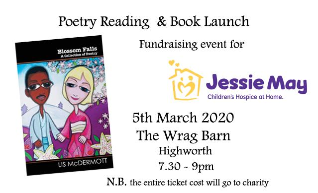 Swindon Poetry Reading and Book Launch – In support of Jessie May