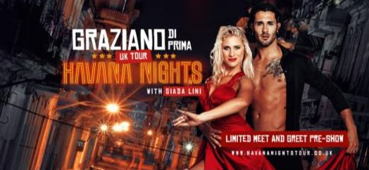 Q&A with Strictly Come Dancing professional Graziano Di Prima who is about to embark on a UK tour with his fiancée