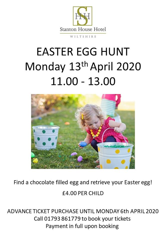 Easter Egg Hunt at Stanton House Hotel