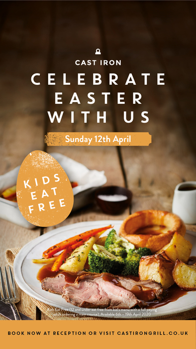 Swindon Marriott Hotel's Easter Special