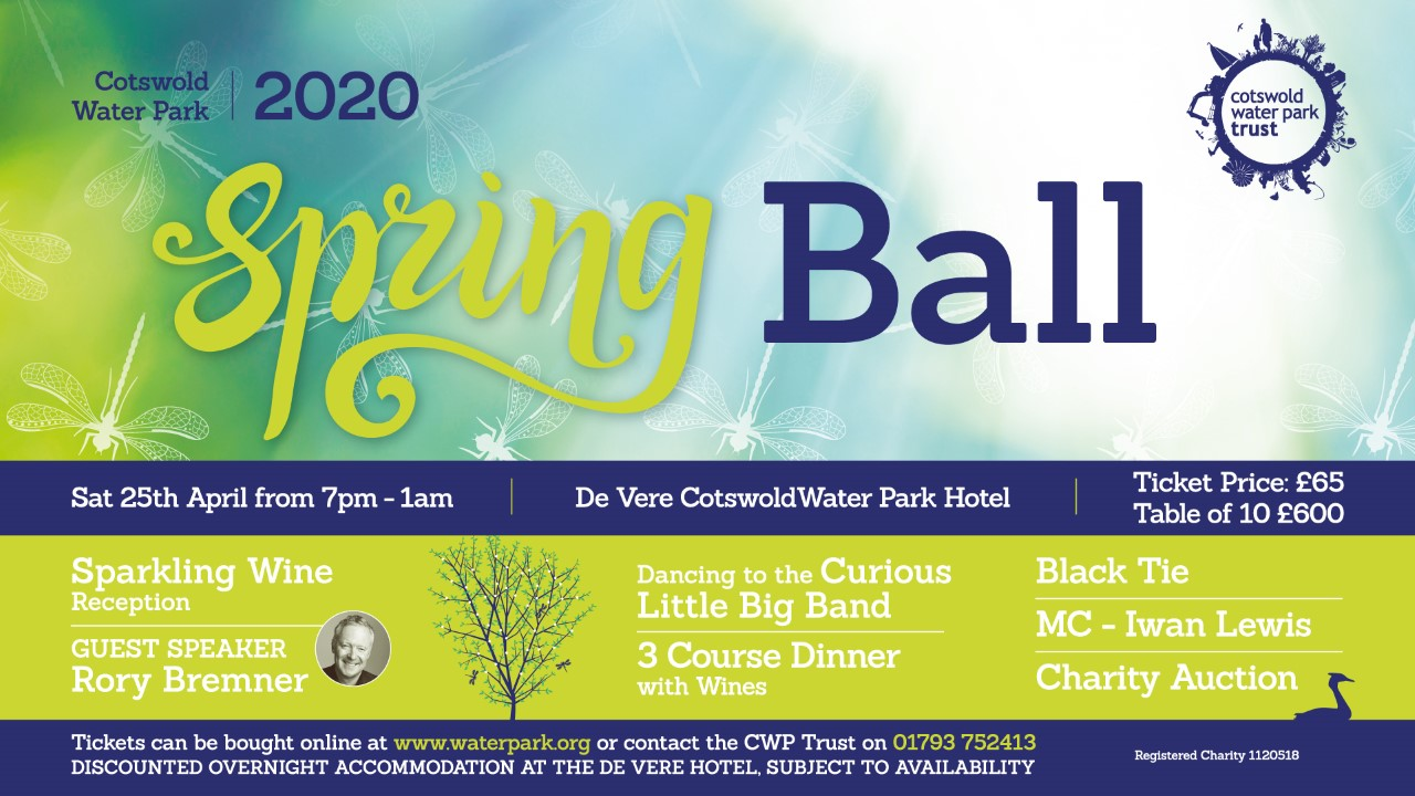 2020 Cotswold Water Park Spring Ball
