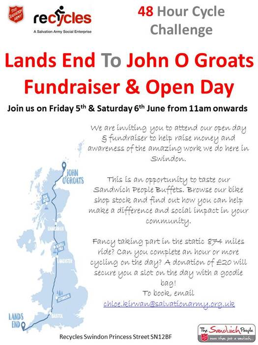 Static Cycle - Lands End To John O Groats Fundraiser