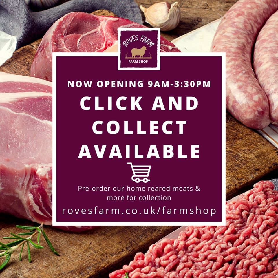 Roves Farm Shop's Butcher Specialities