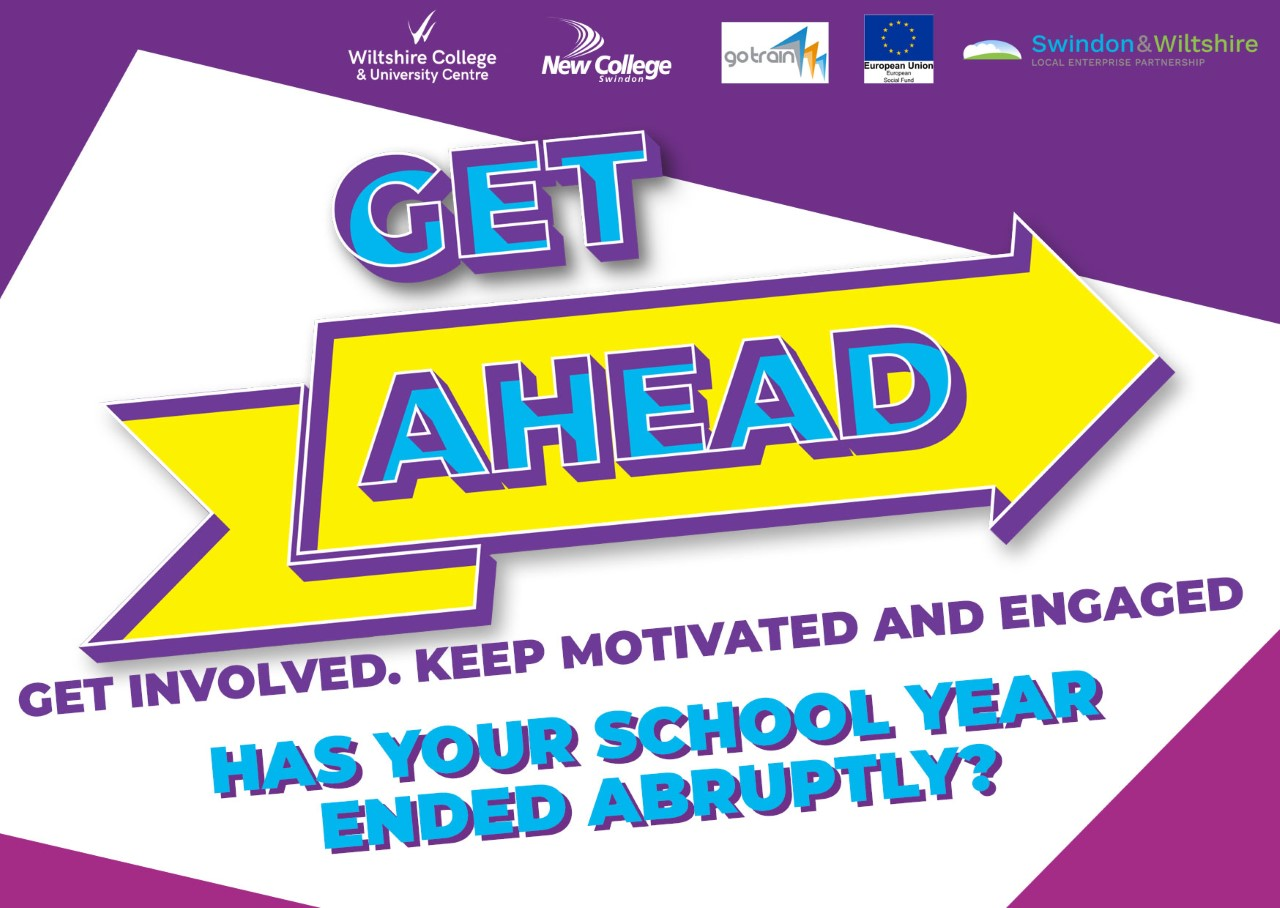 KEEP MOTIVATED AND ENGAGED IN ISOLATION WITH THE GET AHEAD PROGRAMME AT NEW COLLEGE SWINDON