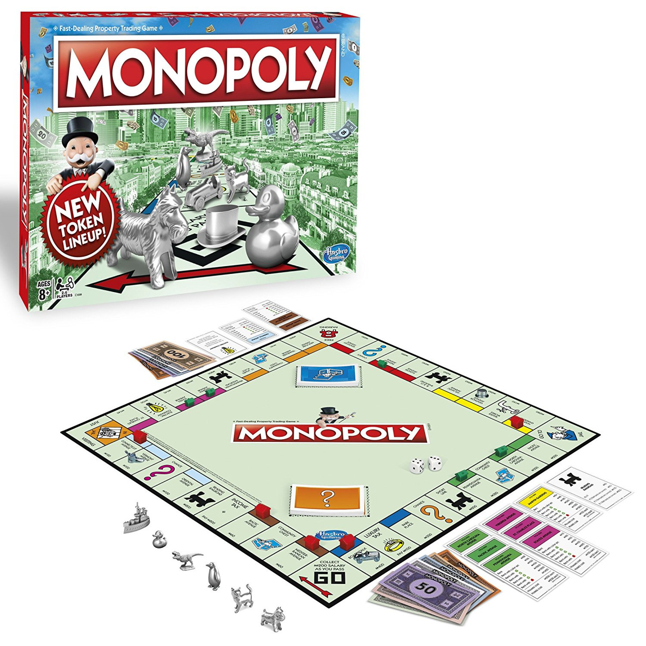 THE BEST CLASSIC BOARDGAME - MONOPOLY