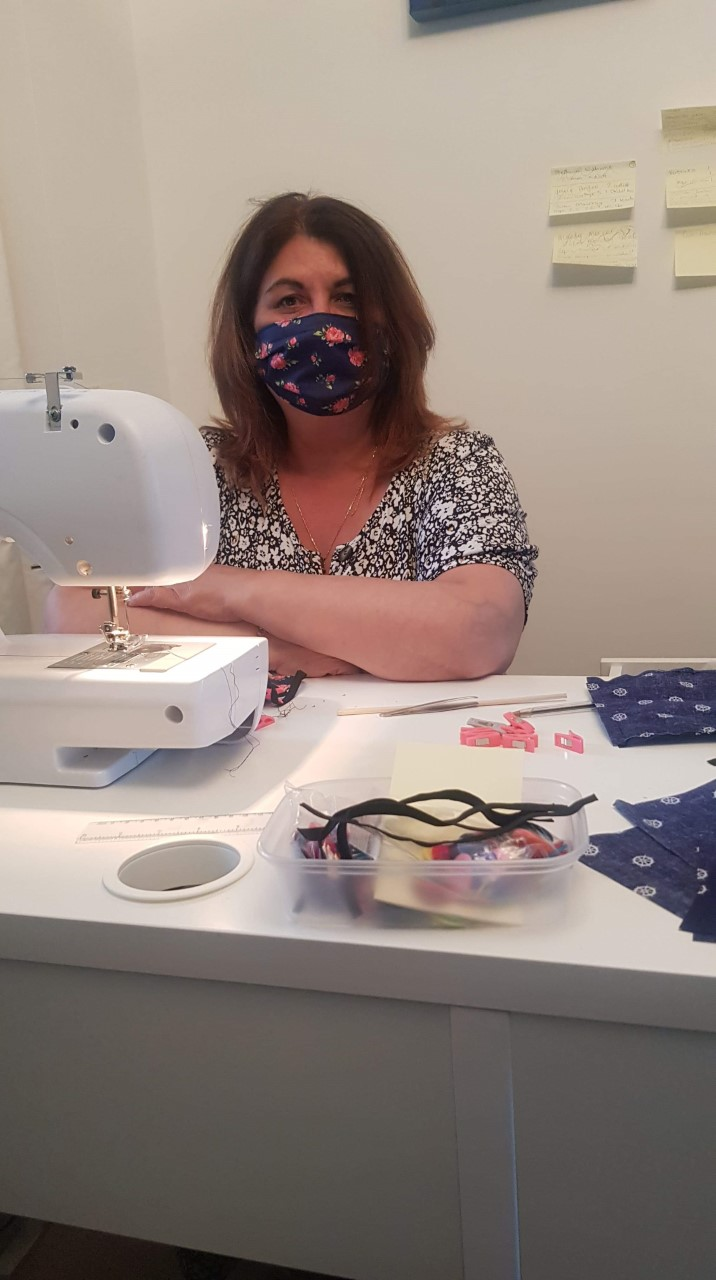 NEW COLLEGE SWINDON FINANCIAL ACADEMY LEADER MAKES OVER 200 FACE MASKS FOR KEY WORKERS