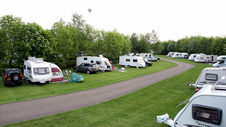 Cirencester Park Caravan and Motorhome Club Site