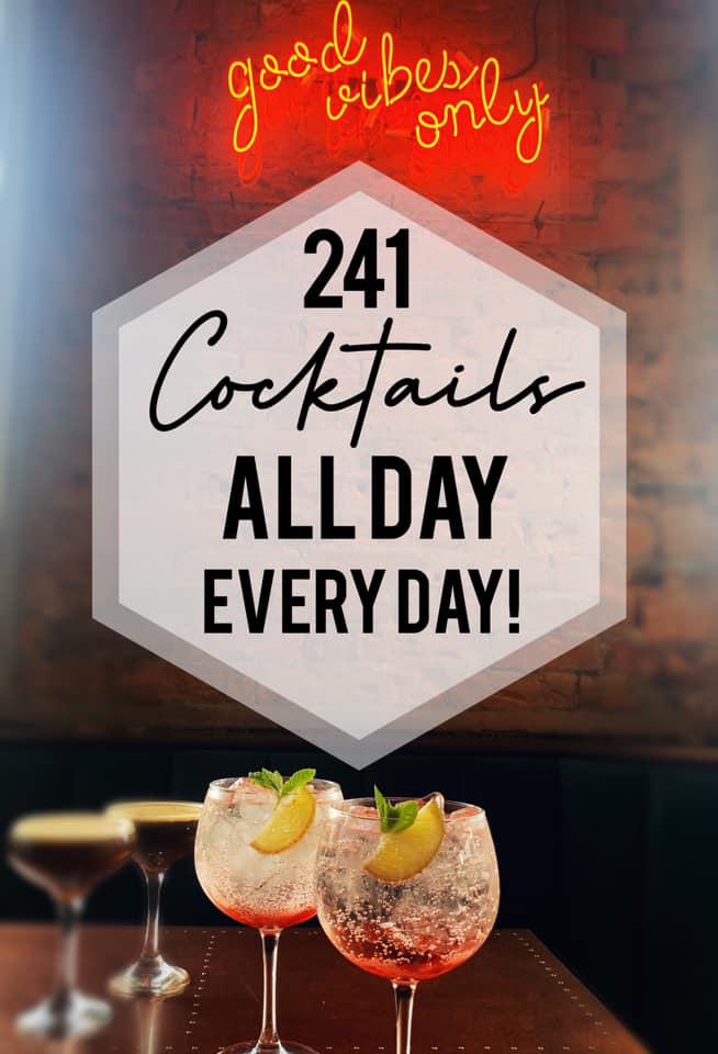 2-4-1 Cocktails at Longs Bar