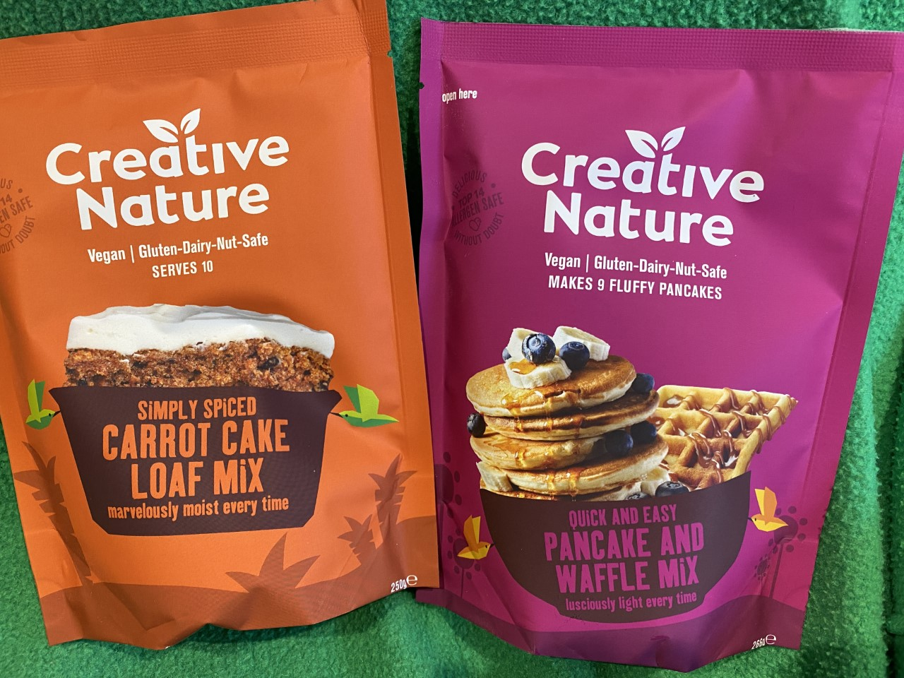 Win Creative Nature's New Baking Mixes