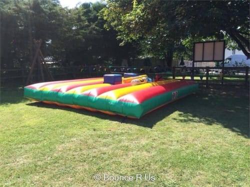 Win an Inflatable Gladiator Duel for Hire for one Whole Day!
