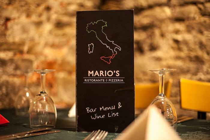 MARIO'S THURSDAY EVENING SPECIAL FOR £7.95