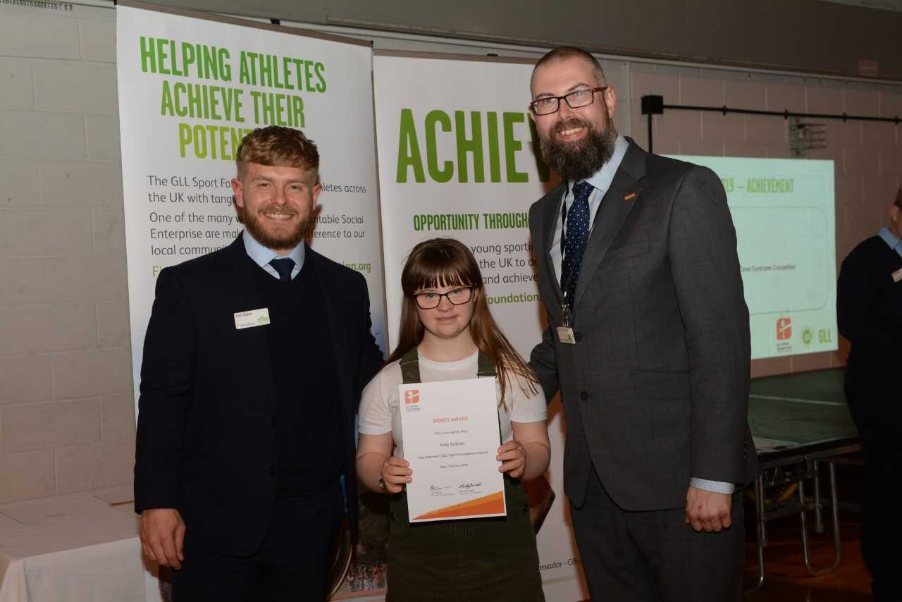 Local athletes celebrate awards from social enterprise sports foundation