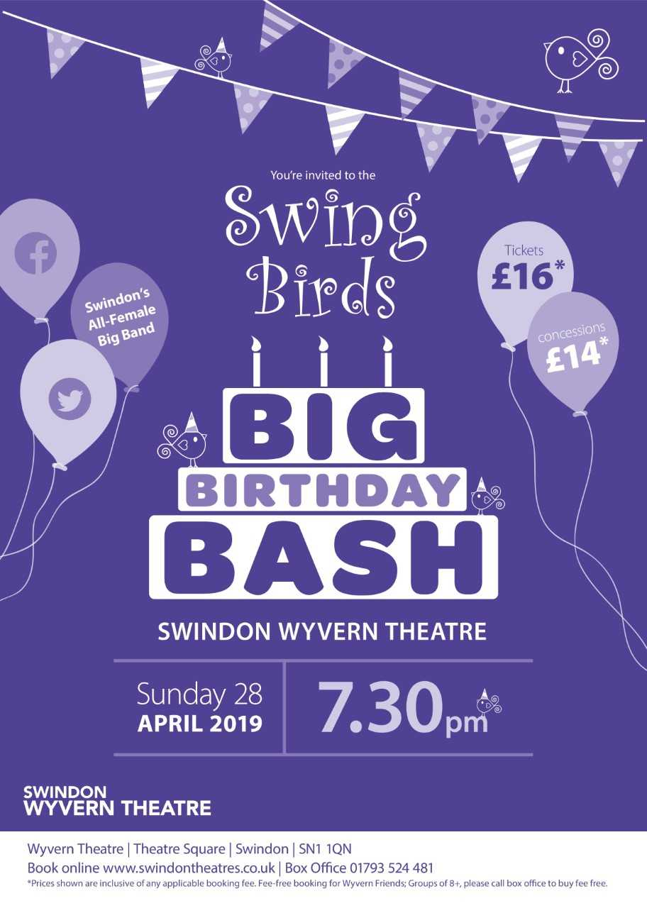 Swing Birds return to the Wyvern in 2019!