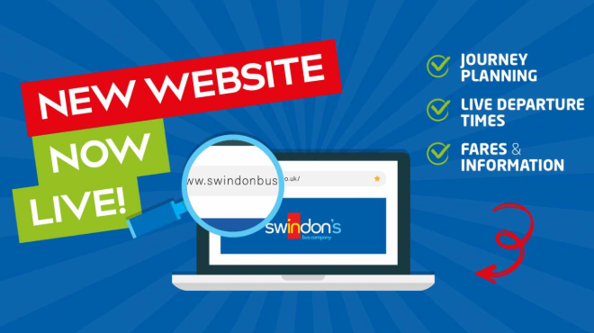 Swindon's Bus Company Launches New Website