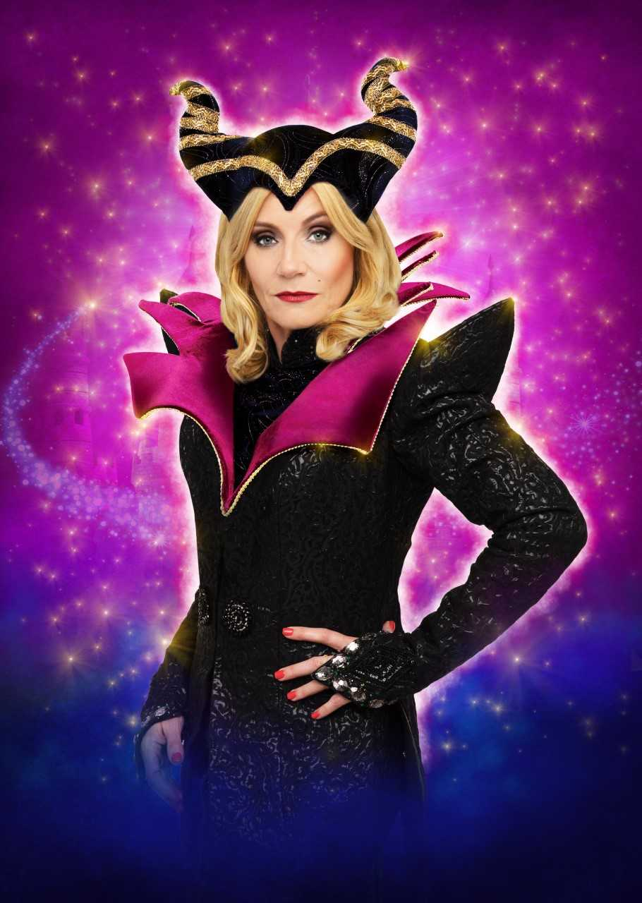 SOAP STAR MICHELLE COLLINS TO JOIN SWINDON'S WYVERN THEATRE FOR PANTO SEASON AS THE EVIL CARABOSSE IN SLEEPING BEAUTY