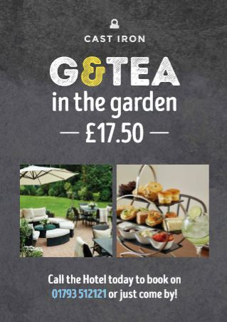 G & TEA in the Garden