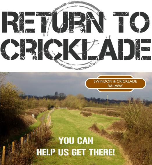 Swindon And Cricklade Railway Need Your Help To Get Back To Cricklade