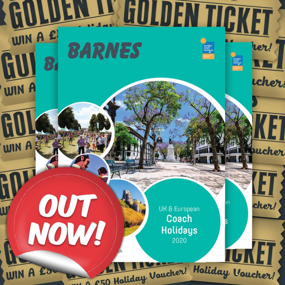 Barnes Coaches 2020 Brochures are out!
