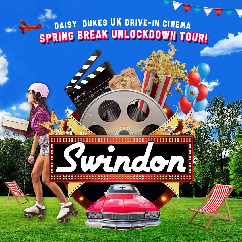 Daisy Dukes UK Drive-In Cinema Swindon