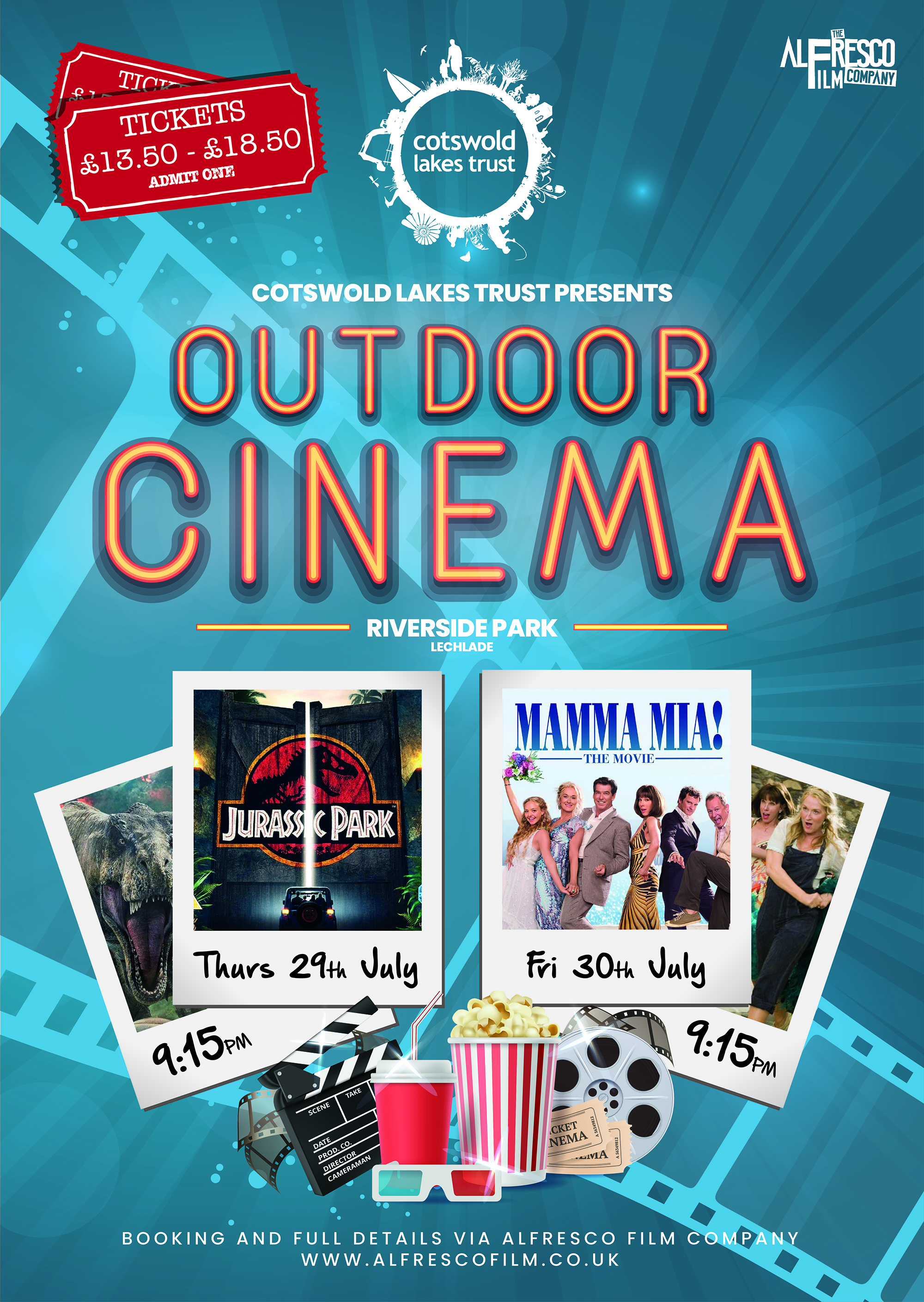 Outdoor Cinemas Swindon