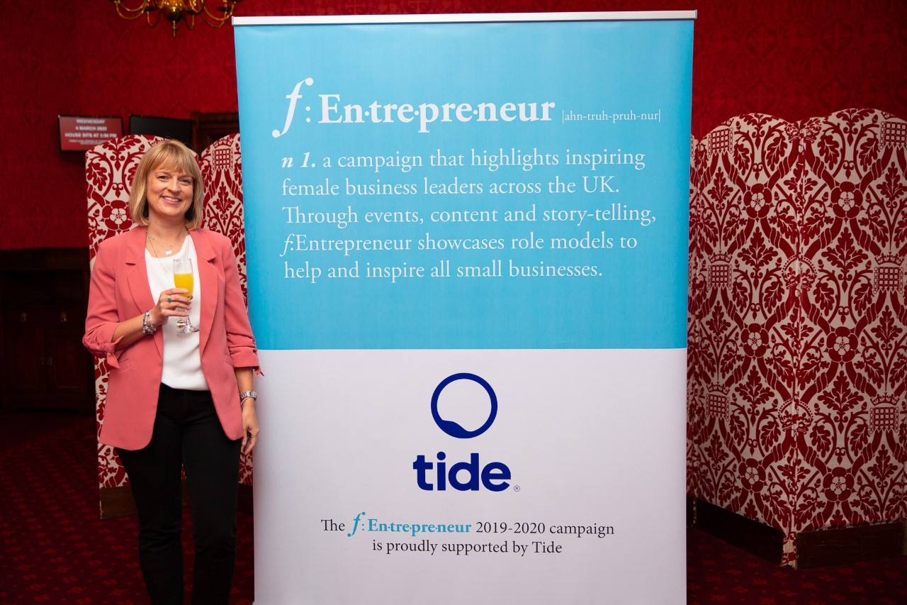 National Small Business Campaign puts Calne Entrepreneur in the Spotlight at the House of Lords