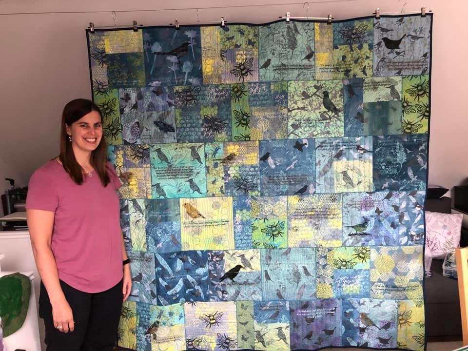 HE FASHION AND TEXTILES STUDENT IMPRESSES LOCAL SCHOOL WITH INTERACTIVE WELL-BEING PROJECT