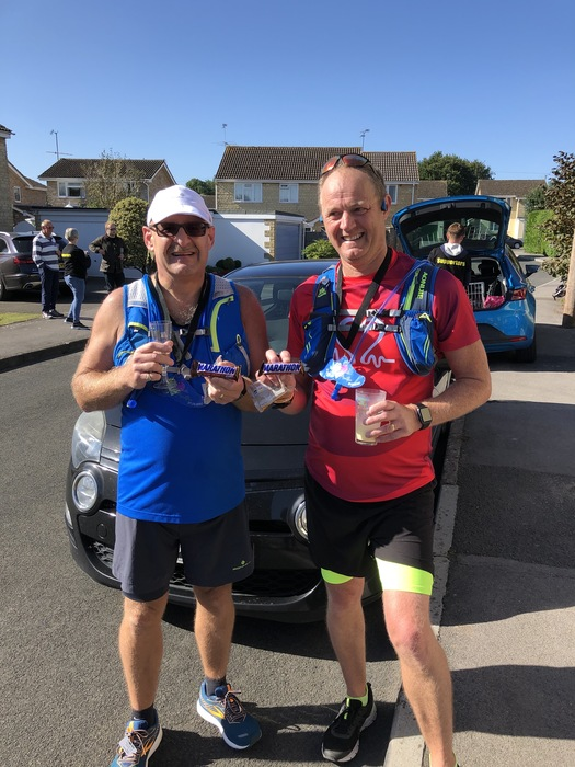 BUSINESSMAN RAISES OVER £1,500 FOR CHARITY BY RUNNING HIS OWN PERSONAL MARATHON