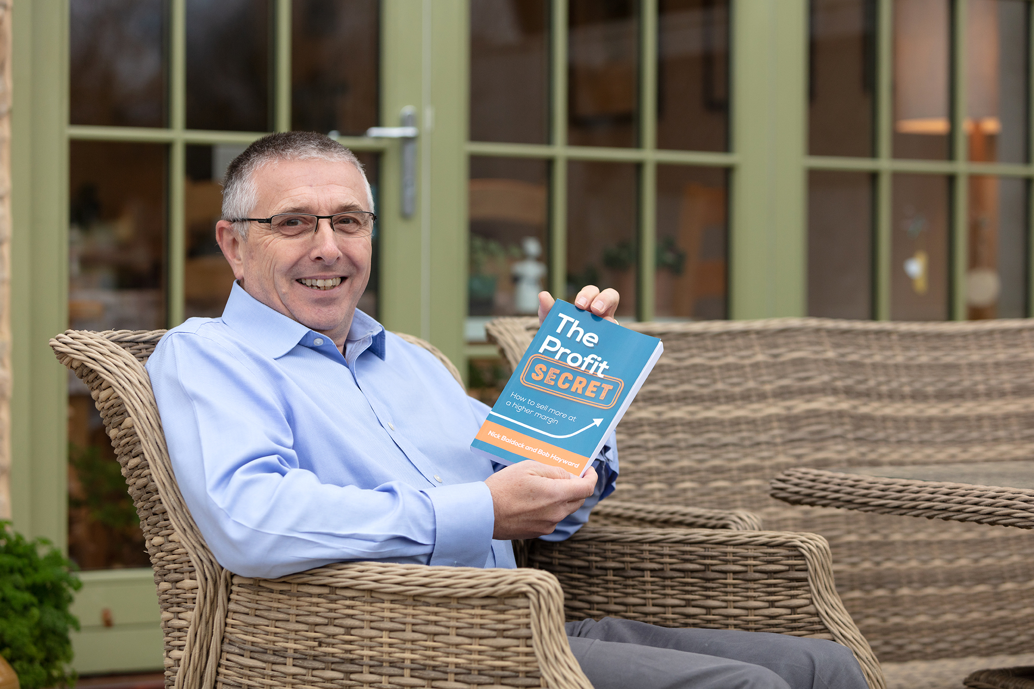 ENTREPRENEUR AND AUTHOR BOB HAYWARD PUBLISHES HIS LATEST BOOK ON 'PROFIT'.