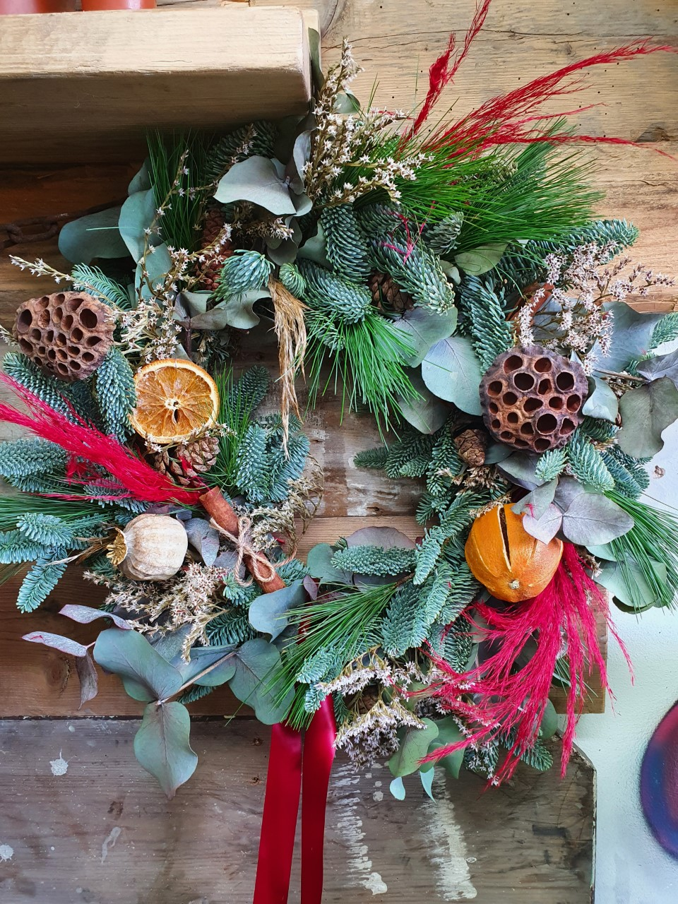 Christmas Wreath Workshop - Stanton House Hotel