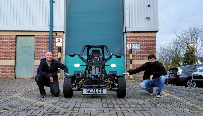 EUROPE'S FIRST WORKING 3D PRINTED ELECTRIC VEHICLE REVS UP IN SWINDON.