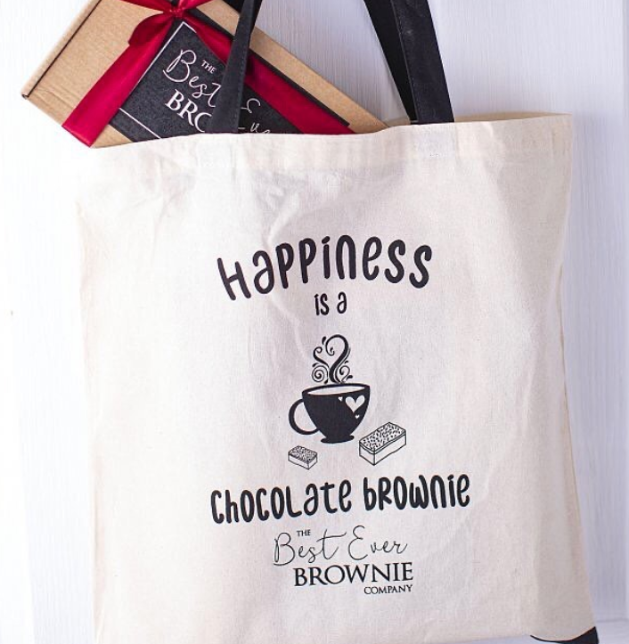The Best Ever Brownie Company Reusable Tote Bags