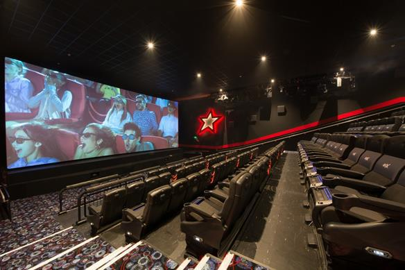 Cineworld reveals Swindon's first 4DX screen