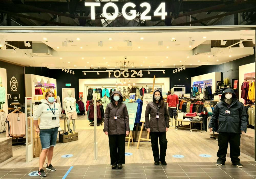 TOG24 Proud to Outfit Threshold's Homeless Street Outreach Team