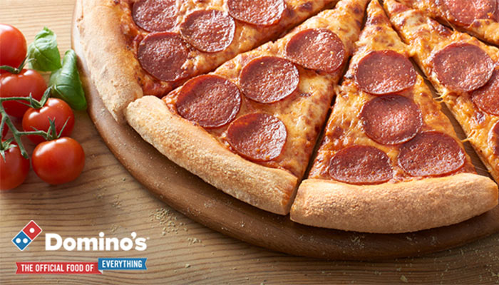 Get 50% Off Your Domino's Order!