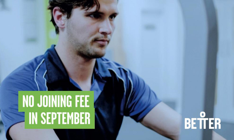 No Joining Fee in September!